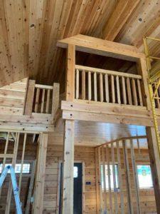 log home builders