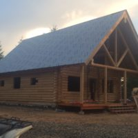 Mountain Retreat compete home with front porch