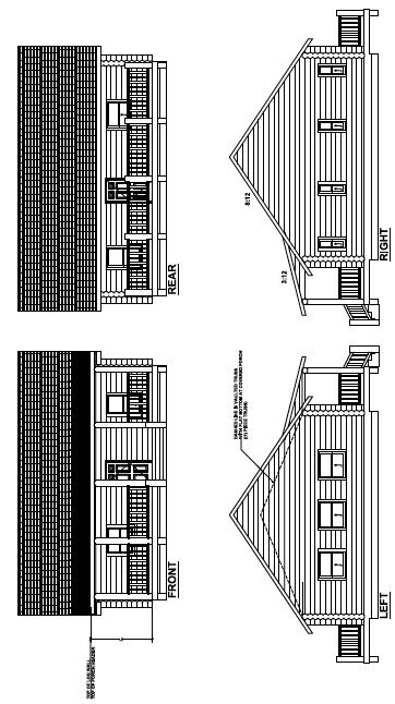 Floor Plan for Koeppen/Grizzly III