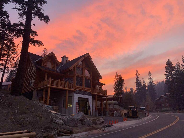 california log home builders