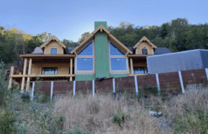 log cabin builders in california