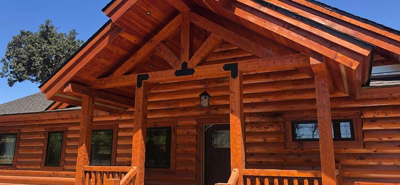 redwood valley log home construction
