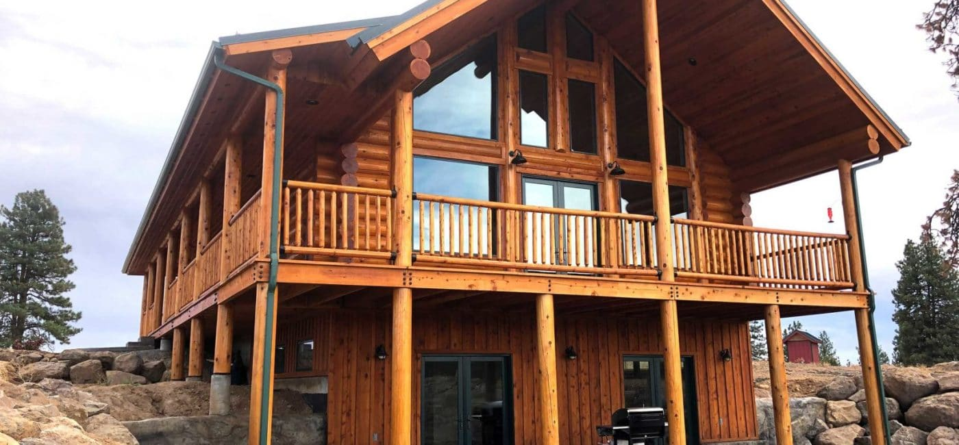 Oregon log home builders